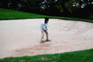 ゴルフ初心者のためのバンカーショット
