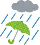 雨の日 ゴルフ ラウンド