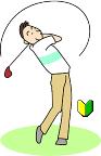左手をウィークに握ってボールを打つ